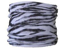 Col tube zebra stripes ski motard moto vélo écharpe chapeau snood couche de base