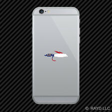 Georgia Fly Fishing Cell Phone Sticker Mobile GA fish lure tackle flies