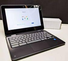 New listing Hp Chromebook x360 11-ae027nr Intel 2.40Ghz 4Gb 16Gb eMmc 2 in 1 Touch Gray 11.6