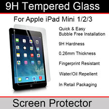 Genuine Tempered Glass Screen Protector for Apple iPad Mini 3 (3rd Generation)