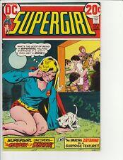 "Supergirl #3 (DC 1973) ""The Garden of Death!"" + Zatanna! VF! Very Nice Comic!"