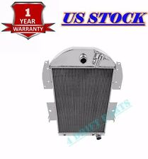 FIT CHEVY PICKUP TRUCK 1934 35 1936 (Chevy Engine) 3 ROWS ALUMINUM RADIATOR