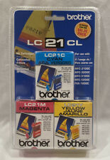 Brother Ink Cartridges LC21CL 3-Piece Color Value Pack-Sealed