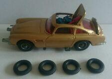 Corgi James Bond 261 Aston Martin - 4 Tyres - Original 1960's - MINT