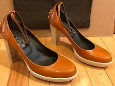 TOD'S Aspen Brown Mary Jane Shoe Size 9