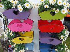 10 x Garden Wooden Trugs ideal flower pots in the garden window cills Kitchen