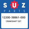 12200-38861-000 Suzuki Crankshaft set 1220038861000, New Genuine OEM Part