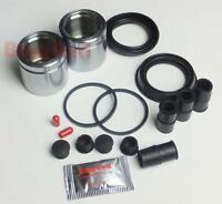 for Volvo V70 2.4 D Front L & R Brake Caliper Repair Kit +Pistons (BRKP134)