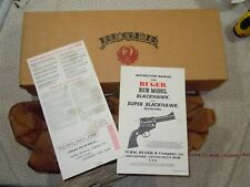 Ruger S-410N New Model Super Blackhawk Factory Box With Manual.