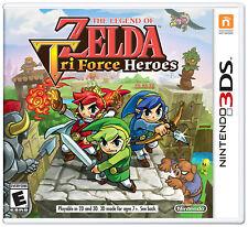 The Legend of Zelda: Tri Force Heroes (Nintendo 3DS, 2015) Factory Sealed