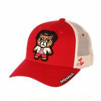 Arizona Wildcats Zephyr Red Tokyodachi Mesh Structured Snapback Hat Cap