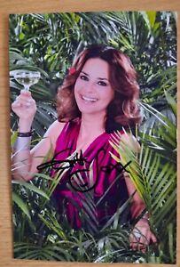 Original Autogrammfoto von Gitta Saxx Dschungelcamp , Ich bin ein Star.. RTL