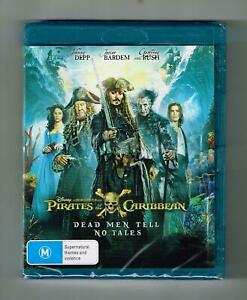 Pirates Of The Caribbean - Dead Men Tell No Tales Blu-ray - Brand New & Sealed