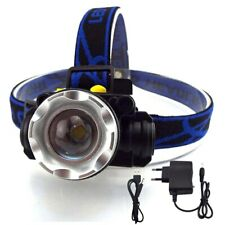 Power XPE T6 Q5 Led Headlamp Headlight frontal head Lamp Flashlight rechargeable