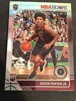 2019-20 Panini Nba Hoops Premium Stock Kevin Porter Jr. Base Rc No.225 Cavaliers