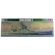 Tamiya British Battleship King George V Ship Model Set (Scale 1:700) 77525 NEW