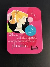 Barbie Playing Cards New w: Tin Case 50th Anniversary