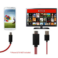 3 in 1 Universal Micro USB to HDMI 1080P HDTV Cable Adapter for iPhone Android