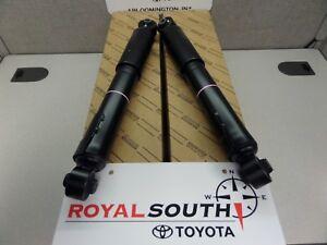 Toyota Rav4 2009 - 2012 Rear Shocks Genuine OEM OE (Pair)