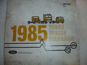 Repair Manuals Literature For 1985 Ford Bronco For Sale Ebay