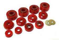 ENERGY SUSPENSION Ford Body Mounts - Red  P/N - 4.4104R