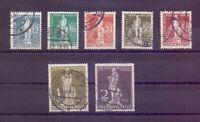Berlin 1949 - UPU Stephan - MiNr. 35/41 rund gestempelt - Michel 320,00 € (566)