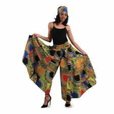 African Women Traditional Patchwork Palazzo Pants