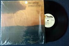 Nina Simone Lamentations Live LP excellent condition soul blues jazz