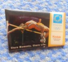 OLYMPIC ATHENS 2004 ATHLETICS TRACK & FIELD KODAK SPONSOR PIN BADGE