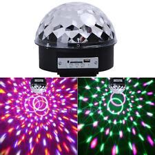 Disco DJ Remote Control USB Bluetooth MP3 LED Stage Magic Ball Effect Lighting