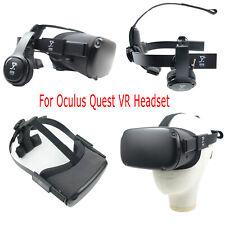Schwarzer verstellbarer VR-Kopfriemenersatz für Oculus Quest VR-Headset-Zubehör