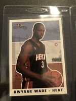 Dwyane Wade 2003-04 Fleer Tradition RC #265 Miami Heat Ready For PSA/BGS