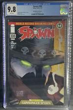 Spawn #306 CGC 9.8 NM/MT Image McFarlane Gunslinger Variant Low Print BOX2
