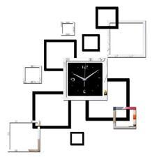 2016 Living Room New Wall Clock 3d Diy Clocks Home Decoration Watch Horloge