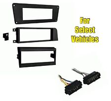 Car Stereo Radio Install Dash Kit Combo for select Volvo 240 740 760 940 w/Amp