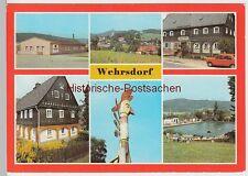 (99466) AK Wehrsdorf, Mehrbildkarte, 1984