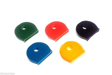 NEW PACK 50 KEY COVER CAP 10 EACH OF 5 DIFERENT COLOURS