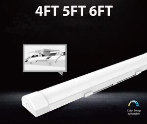 LED Strip Batten Lights 4FT 5FT 6FT Tube Lights Garage Workshop Office Led Lamps