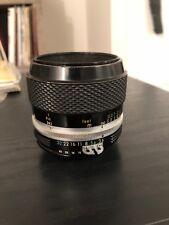 Nikon Micro Nikkor P.C. Auto 55mm F3.5 MF Lens - USA SELLER