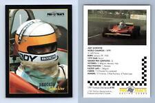 Schecker #190 Formula 1 Pro Trac's 1991 Premier Racing Card