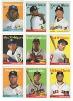 2019 Topps Archives Complete 300 card set Tatis Alonso Vlad Hiura RC Trout Acuna