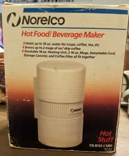 Norelco TC22 Hot Stuff Food/Beverage Maker Stackable Travel Storage Canister