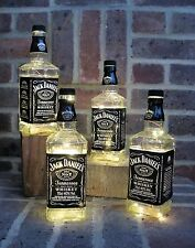 Jack Daniels LED Bottle Light JD Lamp Gift Wedding Birthday Bar Garden Retro