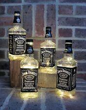 Jack Daniels Botella de Luz LED Lámpara JD Regalo Boda Cumpleaños Bar Jardín Retro