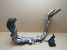 Yamaha YZF R1 07 2007 6,504 miles exhaust manifold downpipes (3157)