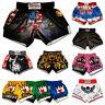 Kampfsport Hose für Muay Thai Boxen Thaiboxen Kickboxen MMA Herren Boxer Shorts