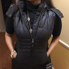 Eddie Bauer Womens High Pass Down Vest - Black XS (NWT)