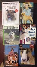 Lot Of 6 Staffordshire Bull, American Pit, Jack Russell Terrier Book Lot