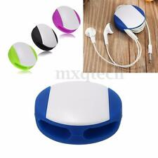 Silicone Earbud Earphone Cord Cables Wrap Winder Wire Holders Organizer New