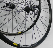 "Mavic 319 SHIMANO DEORE XT  CENTER LOCK HUBS Disc wheelset WHEEL SET MTB 26"""